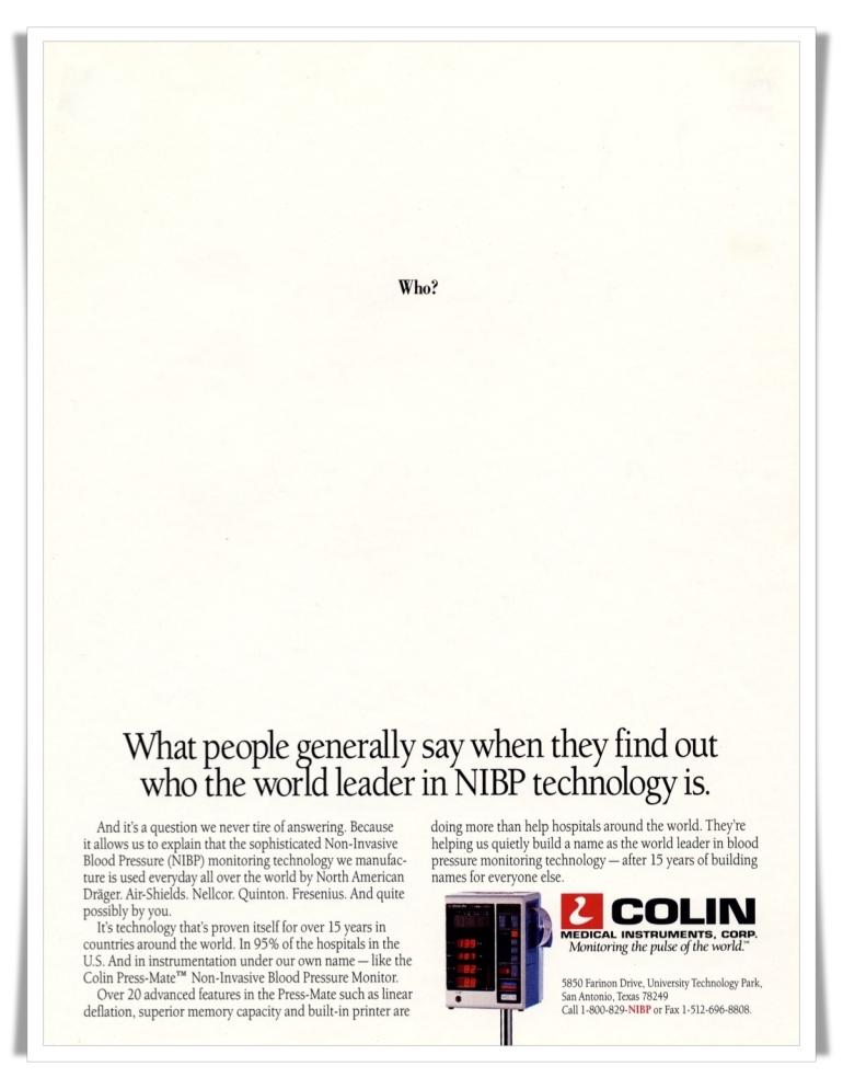 Colin:Who