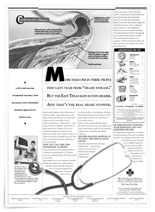 Mother Frances Hospital—Advertorials